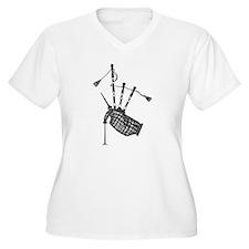 bagpipe-2048x2550.jpg Plus Size T-Shirt