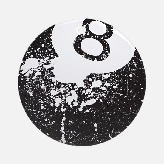 8 Ball Ornament (Round)