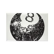 8 Ball Rectangle Magnet
