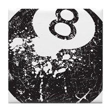 8 Ball Tile Coaster