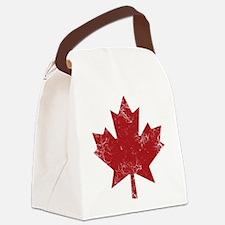 Maple Leaf Canvas Lunch Bag