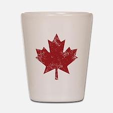 Maple Leaf Shot Glass