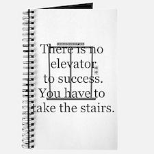 No Elevator to Success Journal