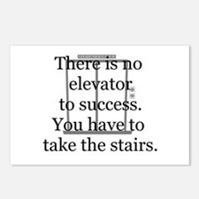 No Elevator to Success Postcards (Package of 8)