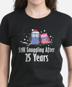 25th Anniversary Snuggling Owls Tee
