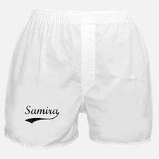 Vintage: Samira Boxer Shorts