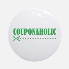 COUPONAHOLIC Ornament (Round)