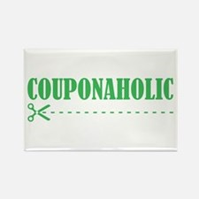 COUPONAHOLIC Rectangle Magnet