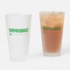 COUPONAHOLIC Drinking Glass