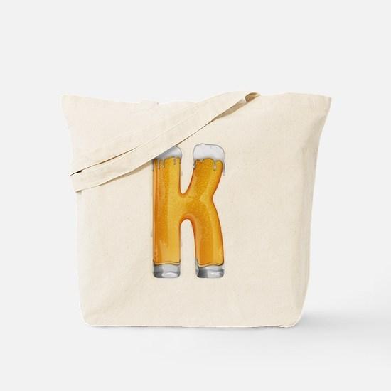 K Beer Tote Bag