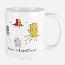 Follow the Line of Dance! Mug