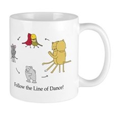 Follow the Line of Dance! Mug