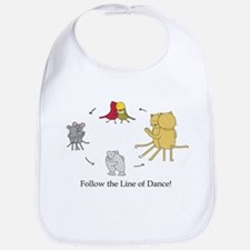 Follow the Line of Dance! Bib