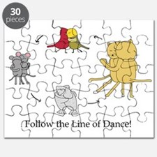 Follow the Line of Dance! Puzzle