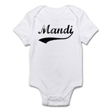 Vintage: Mandi Infant Bodysuit