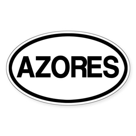 Azores Sticker (Oval)