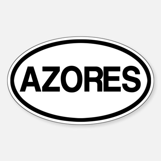 Azores Sticker (Oval)