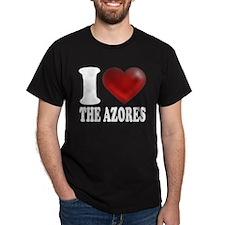 IHeartTheAzores-dark.png T-Shirt