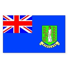 Virgin Islands Rectangle Decal