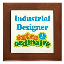 Industrial Designer Extraordinaire Framed Tile