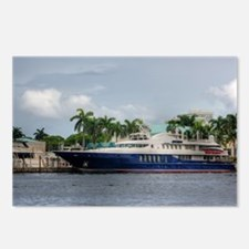 Mega Yacht Postcards (Package of 8)