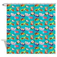 Sushi Yaki Shower Curtain