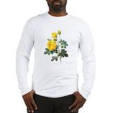 Yellow rose Long Sleeve T-shirts