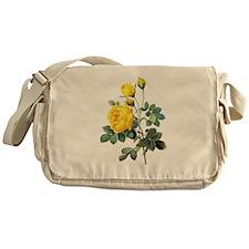 Pierre-Joseph Redoute Rose Messenger Bag