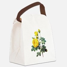 Pierre-Joseph Redoute Rose Canvas Lunch Bag