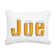Joe Beer Rectangular Canvas Pillow