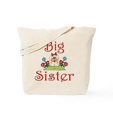 Big Sister Fluffy Pup 7 Tote Bag