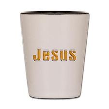 Jesus Beer Shot Glass
