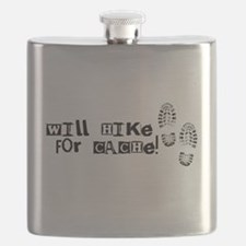 Will Hike For Cache Flask