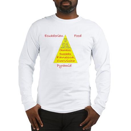 Ecuador Food Pyramid Long Sleeve T-Shirt