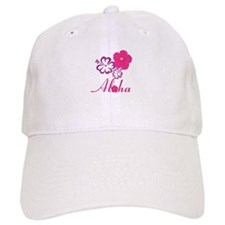 Pink Hibiscus Aloha Baseball Baseball Cap