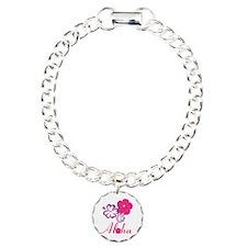 Pink Hibiscus Aloha Bracelet
