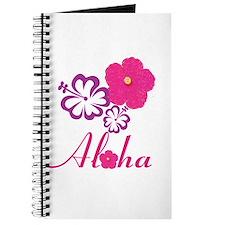 Pink Hibiscus Aloha Journal
