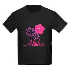 Pink Hibiscus Aloha T