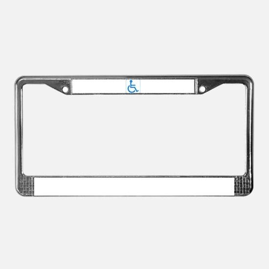 Disabled License Plate Frame