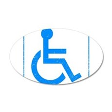 Disabled Wall Decal