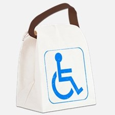 Disabled Canvas Lunch Bag