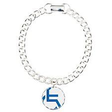 Handicapped Charm Bracelet, One Charm