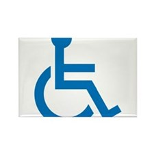 Handicapped Rectangle Magnet (10 pack)