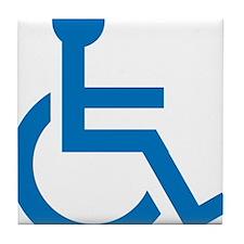 Handicapped Tile Coaster