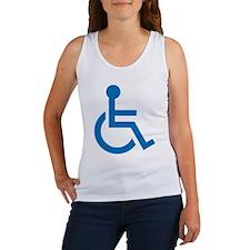 Handicapped Women's Tank Top