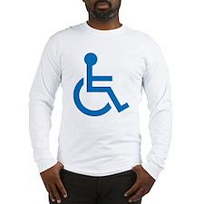 Handicapped Long Sleeve T-Shirt