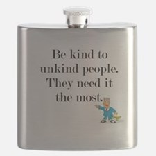 Be Kind to Unkind People Flask