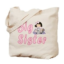 Big Sister Little Friends 3 Tote Bag