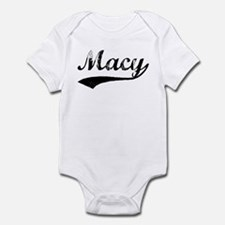 Vintage: Macy Infant Bodysuit