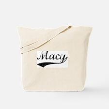Vintage: Macy Tote Bag